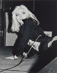 debbie harry dit blondie by david anoff