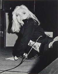 debbie harry dit blondie by david anoff