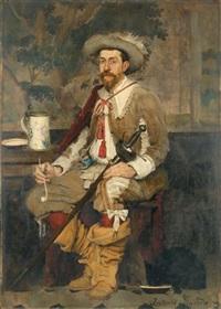 portrait de rodolphe salis by antonio de la gandara