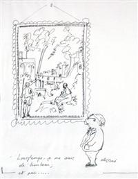 autoportrait au portrait by pierre-jean rémy