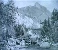 paysage du jura by isidore dagnan