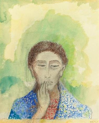 le silence by odilon redon