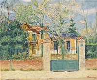 villa madagascar in bièvres by lucien adrion