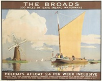 the broads/200 miles of safe inland waterways by anton van anrooy