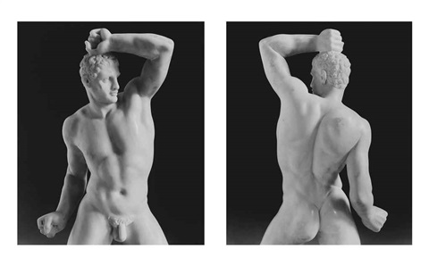 wrestler diptych by robert mapplethorpe