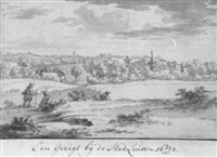 a view of leuven by josua de grave