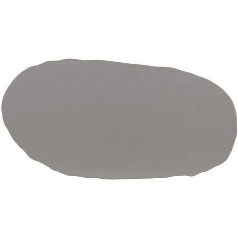 graue scheibe grey disc by blinky palermo