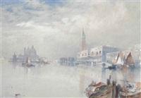 venetian scene by thomas moran