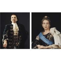 peter the great (+ catherine the great; 2 works) by vladislav mamyshev-monroe