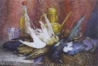 nature morte aux oiseaux by antoinette chavagnat