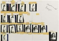 kate moss layout for the face magazine (15 works) by corinne day