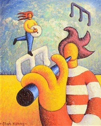 two soft musicians by alan kenny