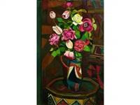 fleurs dans un vase by jeanne rij-rousseau