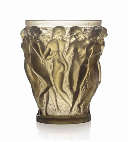 bacchantes vase no 997 by rené lalique