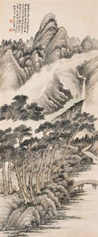 山水 (landscape) by jiang jun