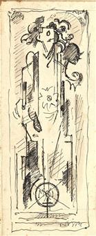 etude pour le moi haïssable (study) by albert gleizes