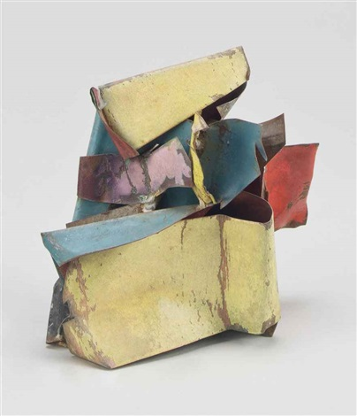 tiny piece 3 by john chamberlain