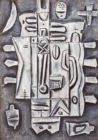 composición gris by h. goitino
