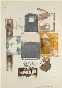 romances (elopment) (from romances) by robert rauschenberg