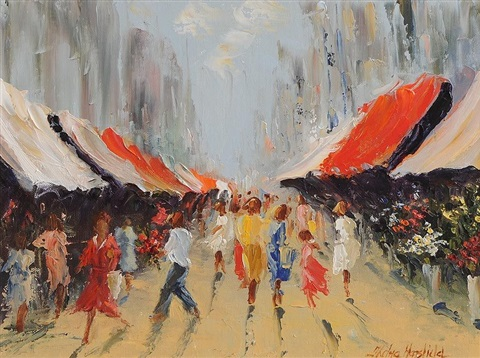 street market by thelma mansfield