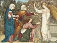 why seek ye the living among the dead? (after john roddam spencer stanhope) by a. corsi lalli