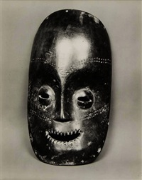 african mask (serrated mouth) by walker evans