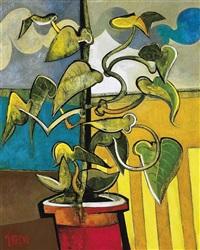 potted plant by geoffrey key