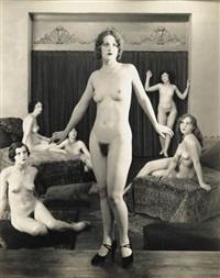 premier nudes (portfolio of 13) by albert arthur allen