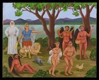 expulsión del paraíso by francisco ochoa