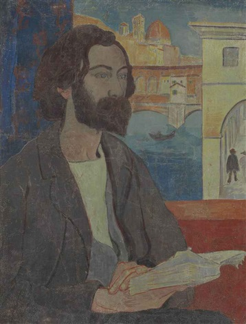 portrait demile bernard à florence by paul sérusier