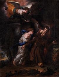 estasi di san francesco by filippo lauri