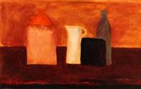 still life with cider jug by ian humphreys