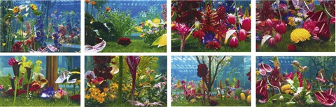 winter garden set of 8 by marc quinn