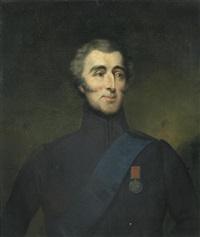 portrait of arthur wellesley, 1st duke of wellington, bust length by anonymous-british (19)