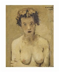 female nude by raphael soyer