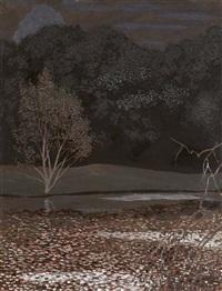 paysage nocturne by léon spilliaert