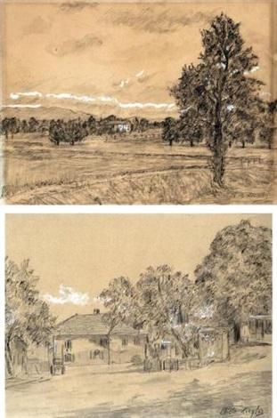 paesaggi pair by charles de ziegler