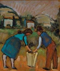 raccolta delle patate by nando coletti