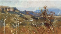 kanimbla valley by albert henry fullwood