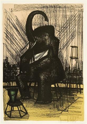 ohne titel aus der folge mon cirque by bernard buffet