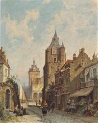 roermond, limburg, holland by pieter cornelis dommersen