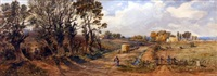 mousehold heath by john joseph cotman