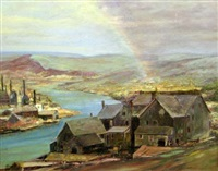 the rainbow (near bethlem, pa) by miles jefferson early