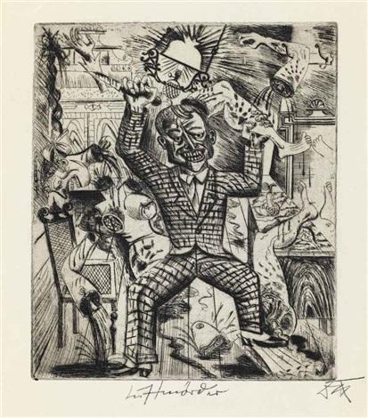 lustmörder (from 5 radierungen) by otto dix