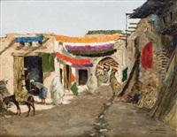entrée du souk à marrakech by carlos abascal
