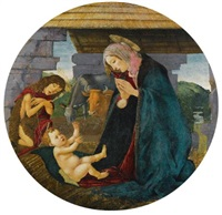 the nativity by sandro botticelli