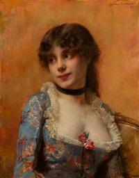 A fair beauty, 1882