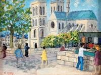 les quais de la seine, les bouquinistes by jacques camus