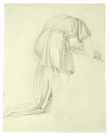study for jakob und rahel am brunnen by bonaventura genelli