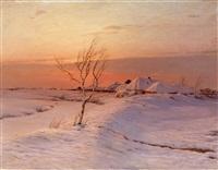 a winter's evening by nikolai nikanorovich dubovskoy